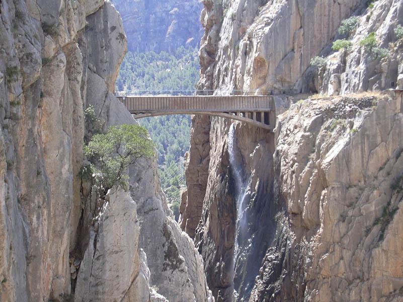 Bridge in El Chorro closer picture - Photo 17