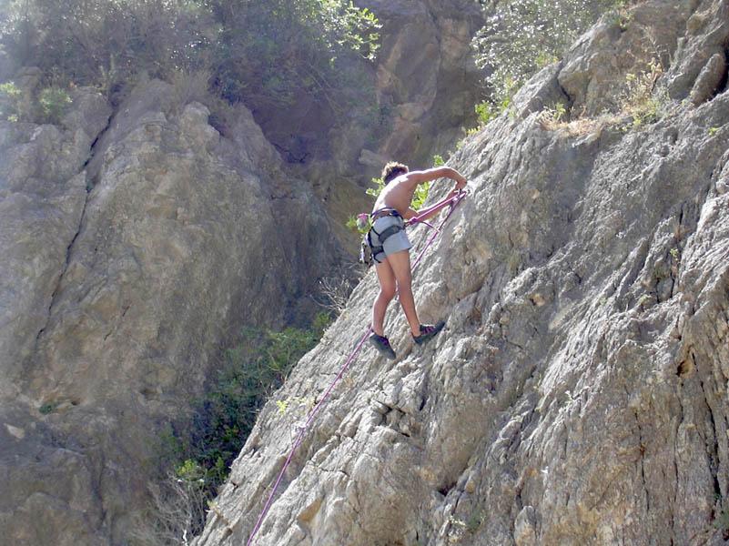 Climbing in El chorro picture 6