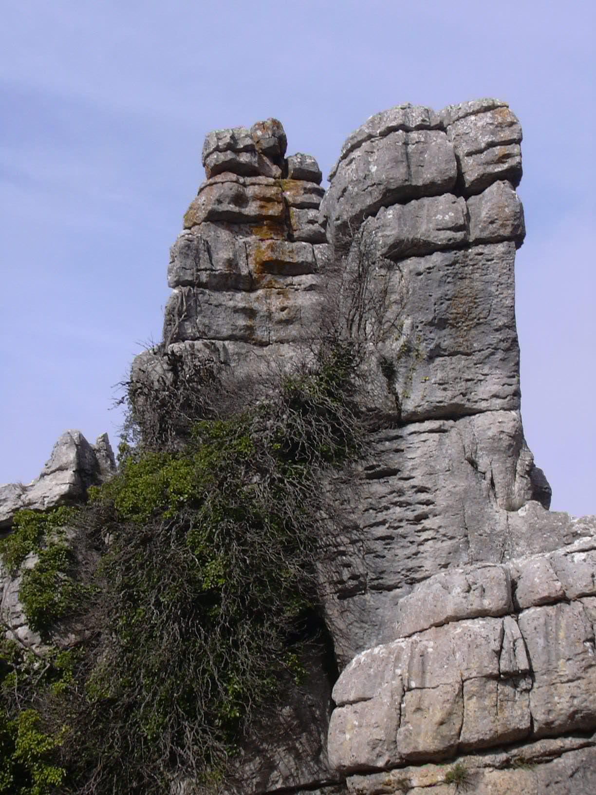 El Torcal rocks overview 16