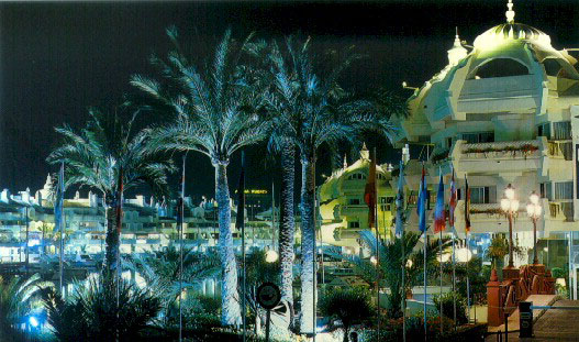 Benalmadena by night - April 29, 2008