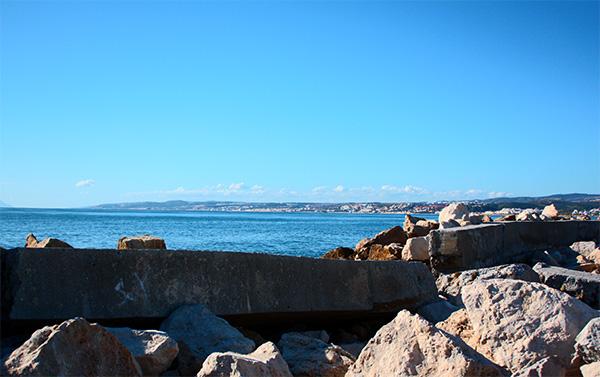 Estepona Beach view