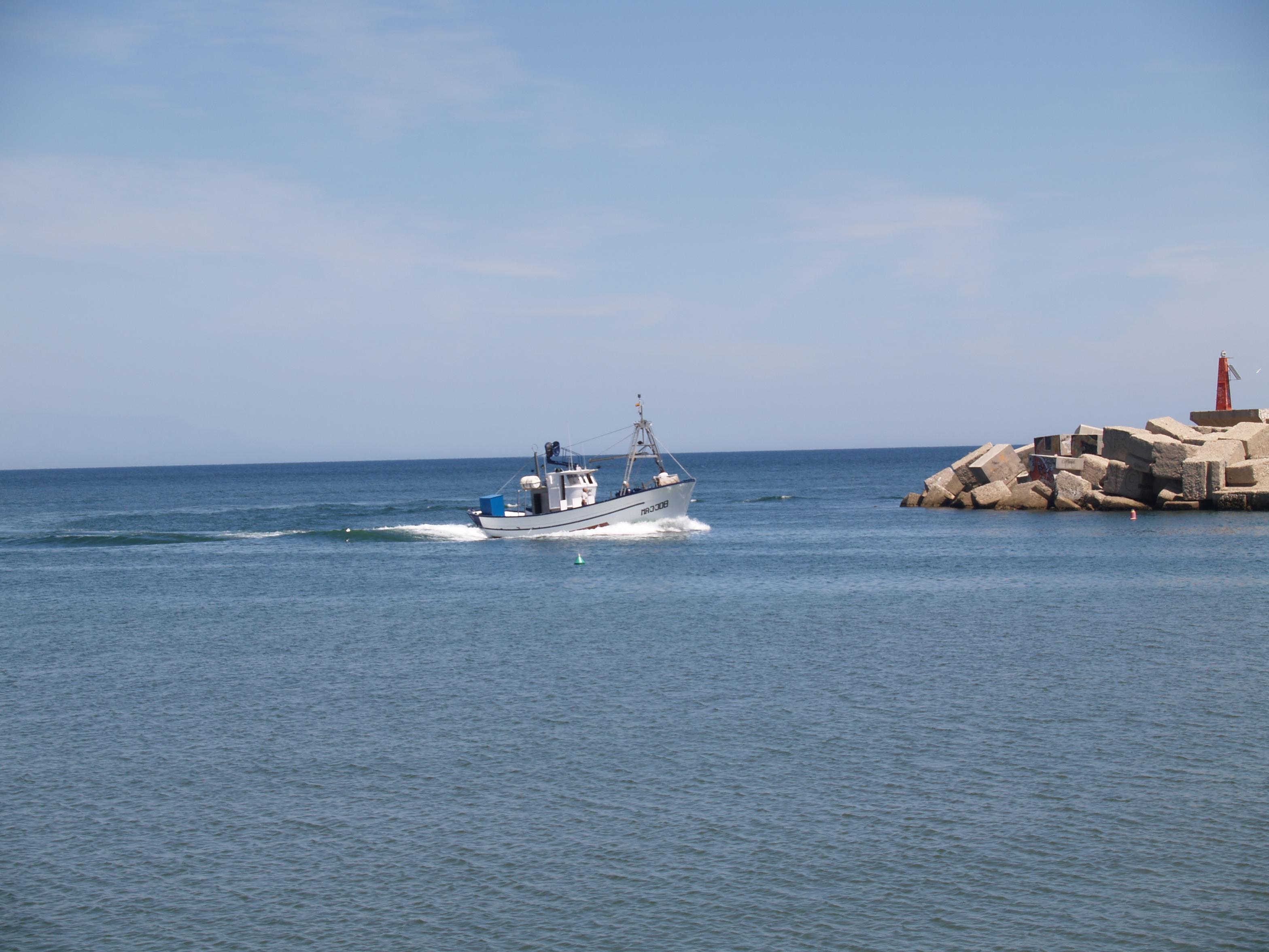Fuengirola boat