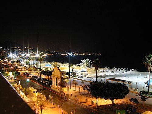 Promenade by night photo