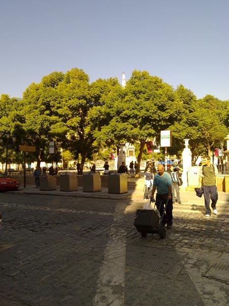 Malaga in the morning