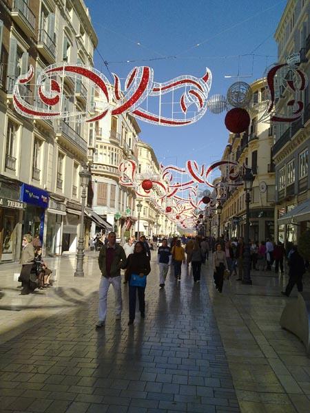Malaga during Christmas 2010 2