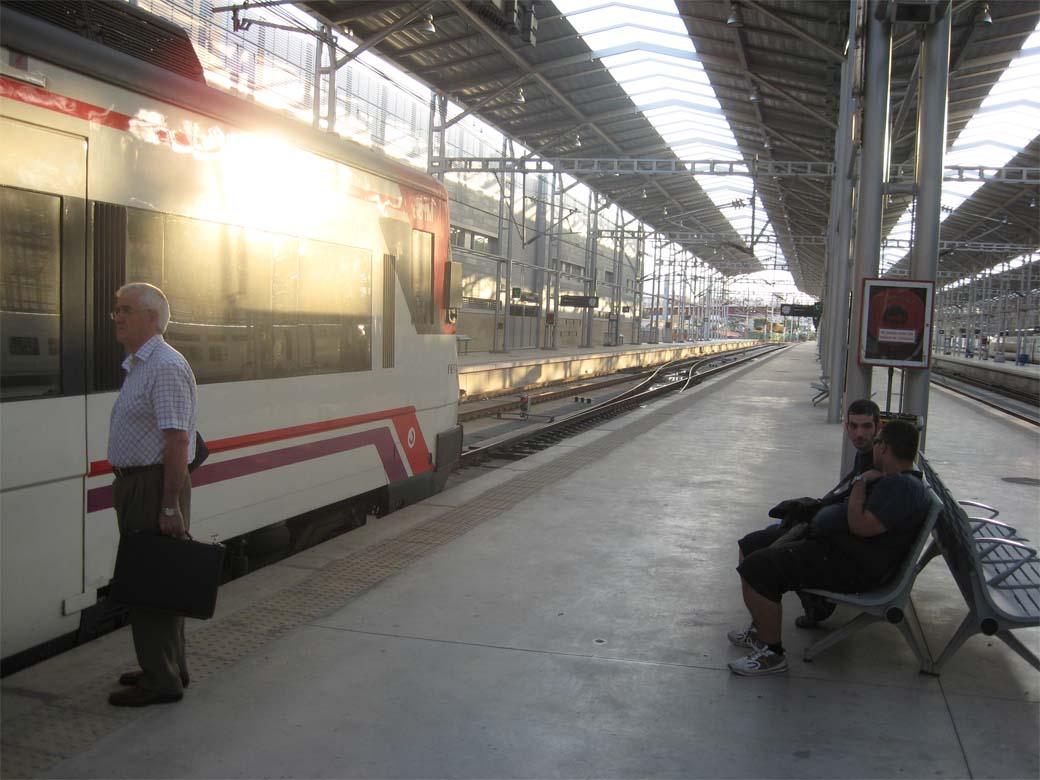Train station Maria Zambrano