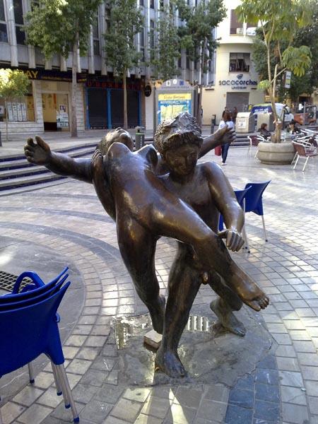 Malaga sculpture 15