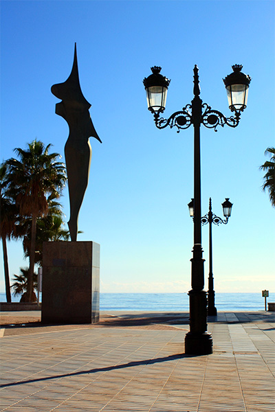 Guadalmina promenade and monument - May 3, 2016