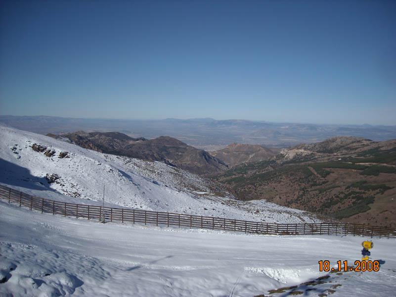 Sierra Nevada pistes photo