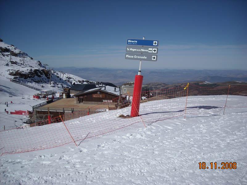 Sierra Nevada signal post photo