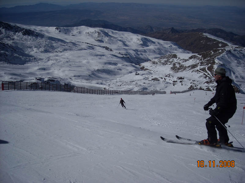 Sierra Nevada skiing picture nº5