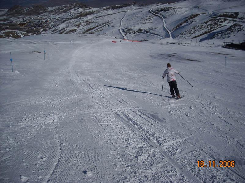 Sierra Nevada skiing photo