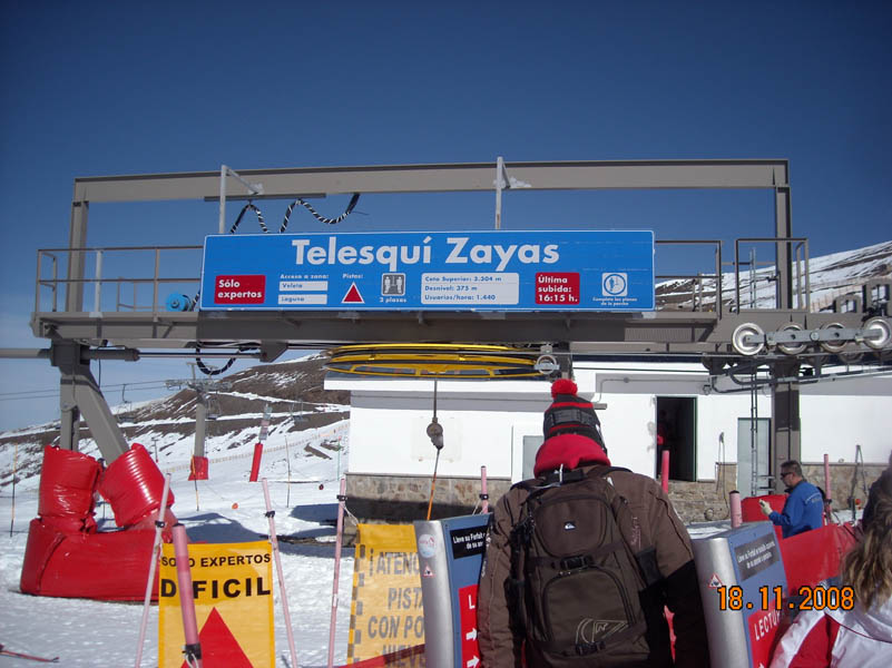 Zayas chairlift photo - November 18, 2008