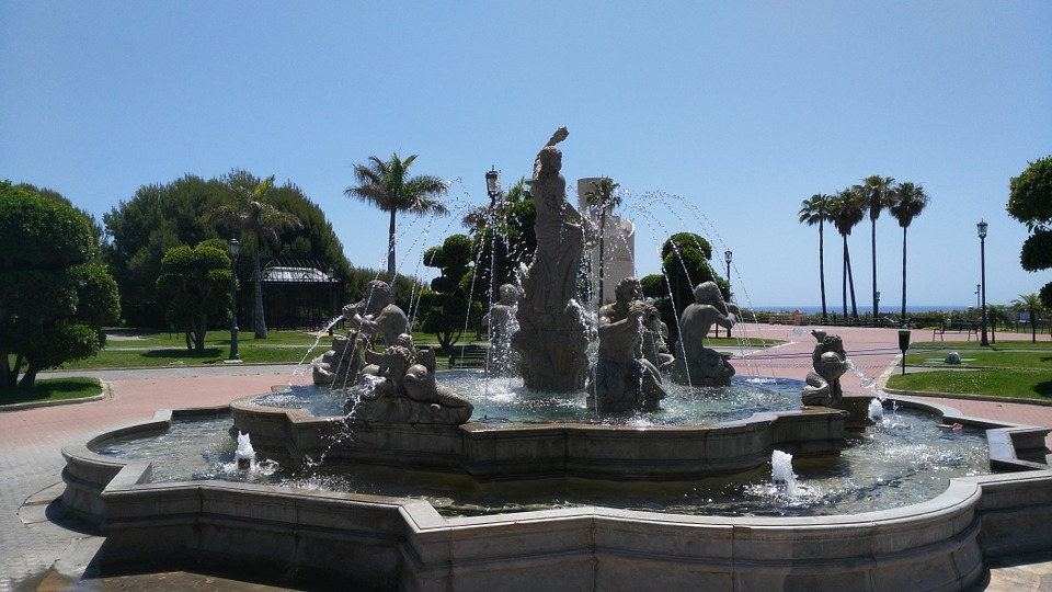 Parque de la Bateria in Torremolinos - May 3, 2016