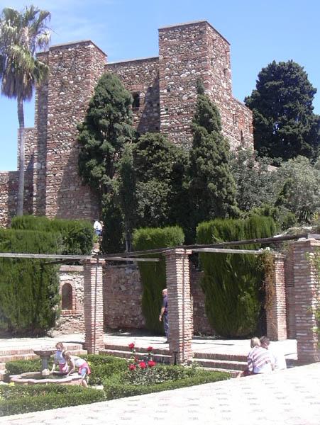 Alcazaba gardens 1