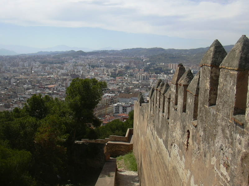 Alcazaba walls 11