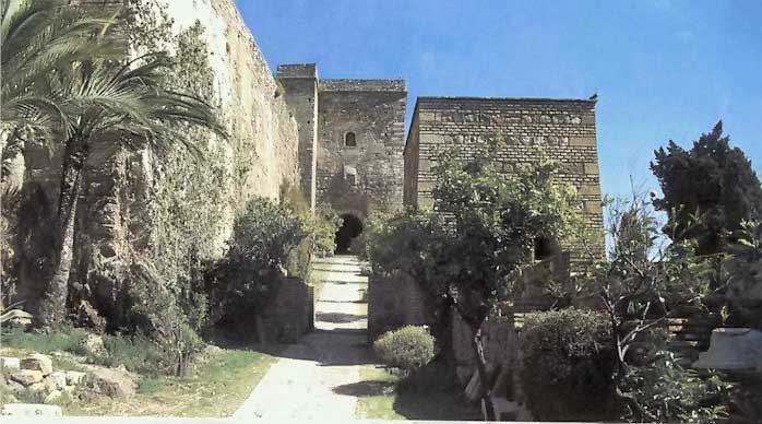 Alcazaba entrance