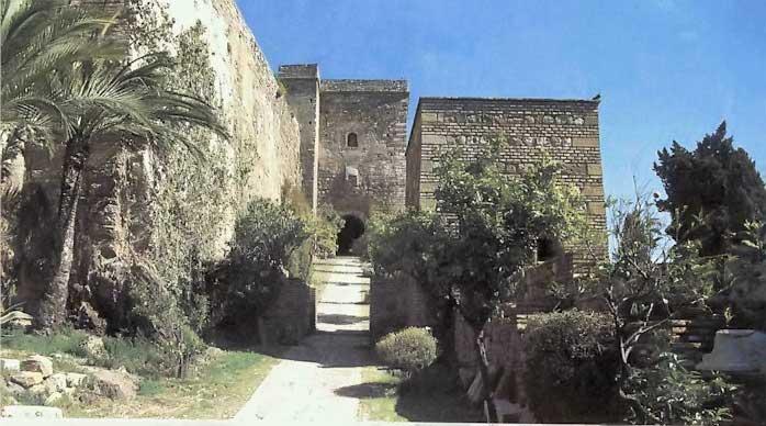 Alcazaba entrance