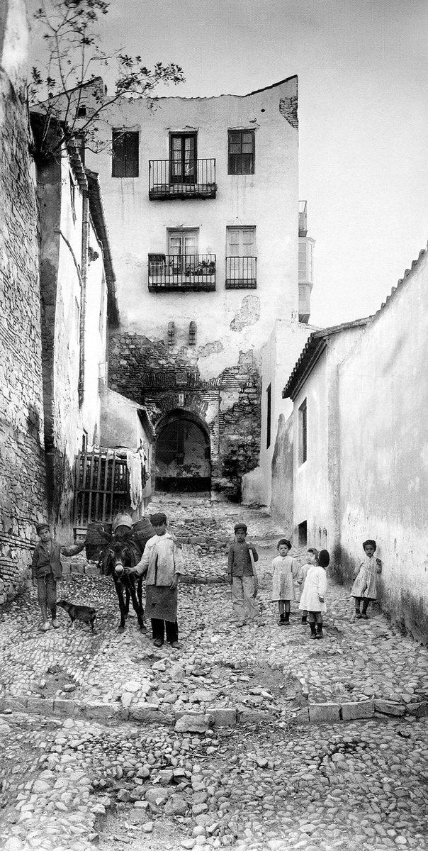 Fotografía histórica de Alcazaba