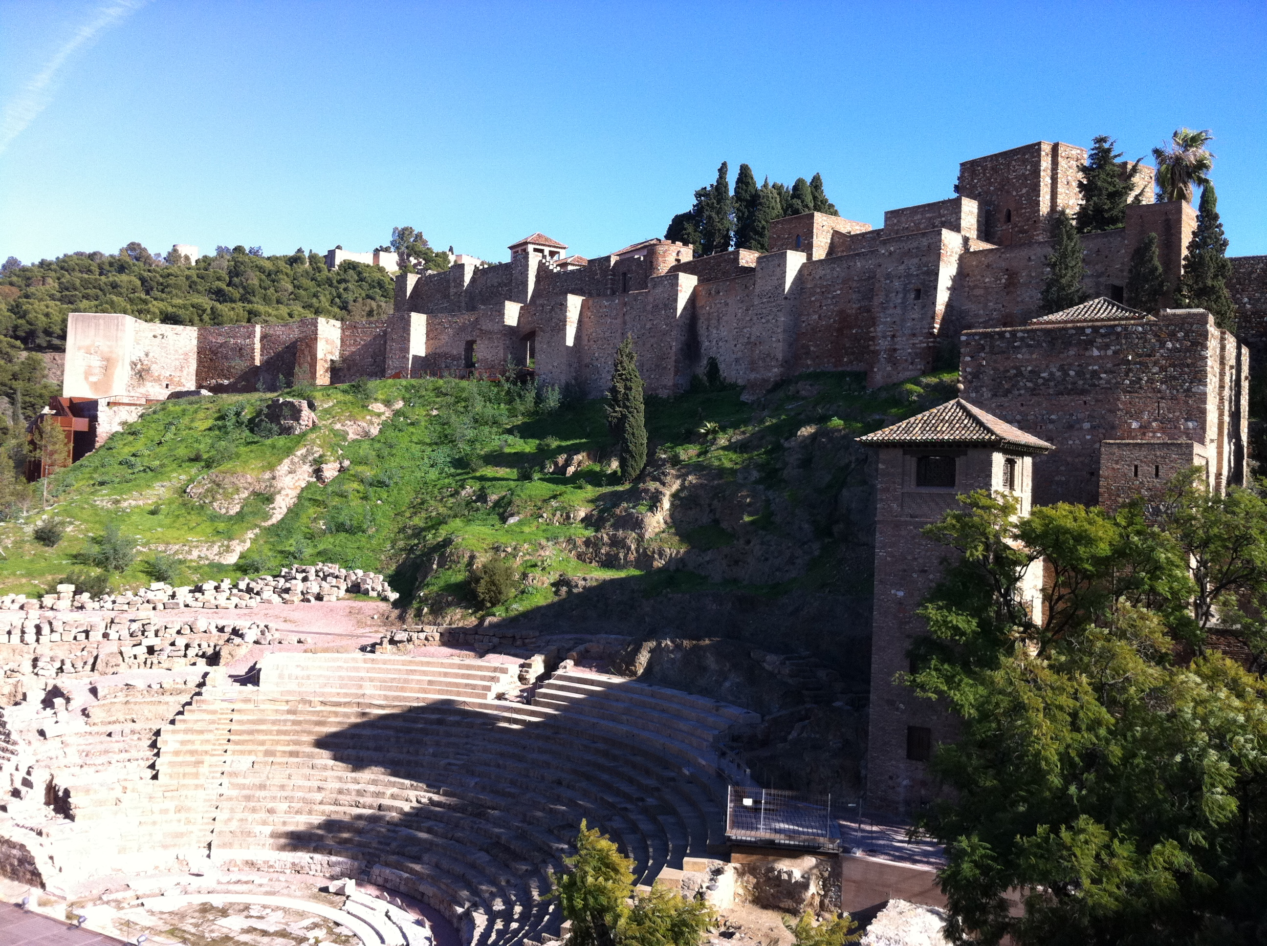 Roman theatre and Alcazaba 8