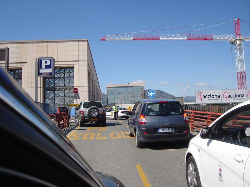 Malaga airport access