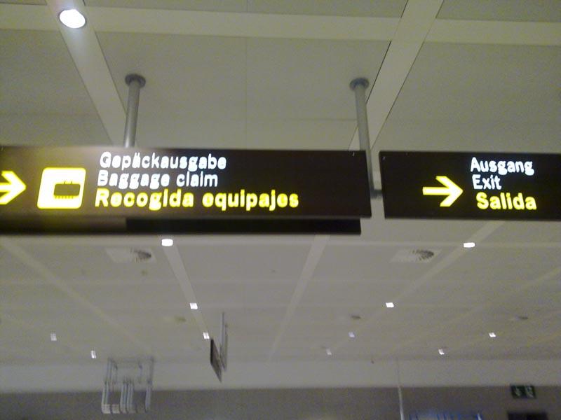 Baggage claim nº25