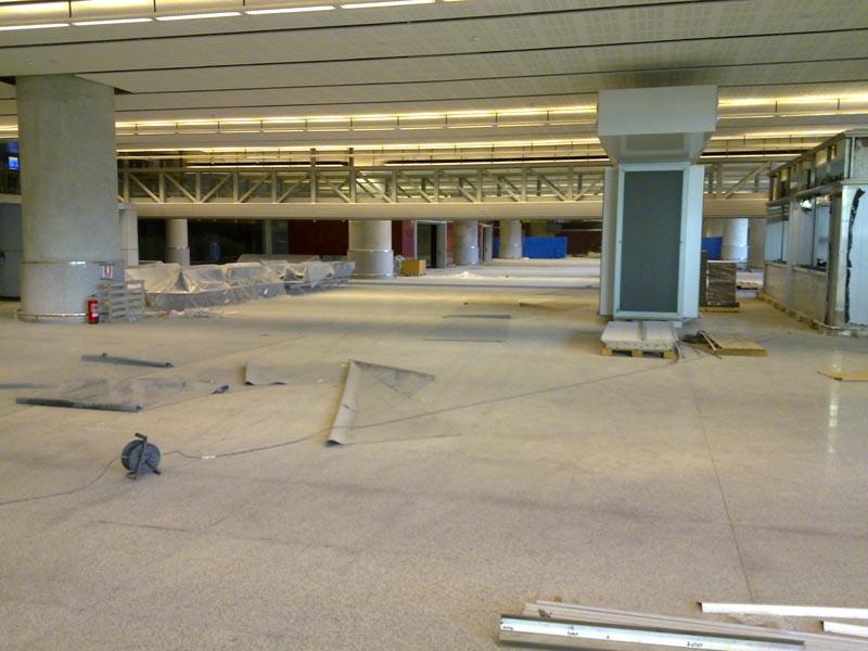 Malaga airport t3 interior