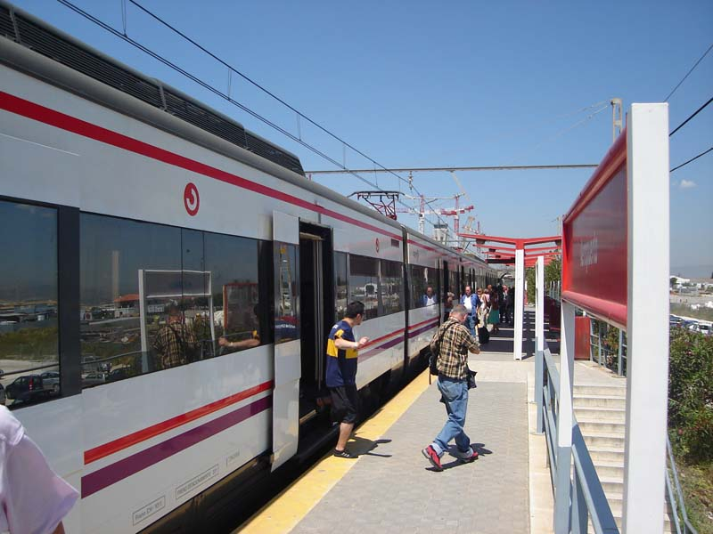 Malaga airport train picture nº22