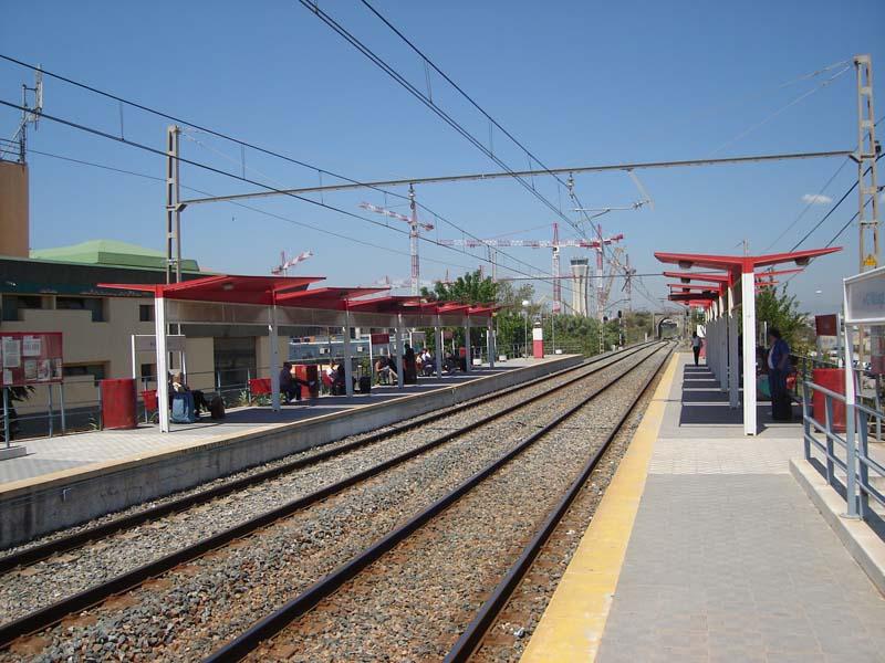 Malaga airport train station nº23