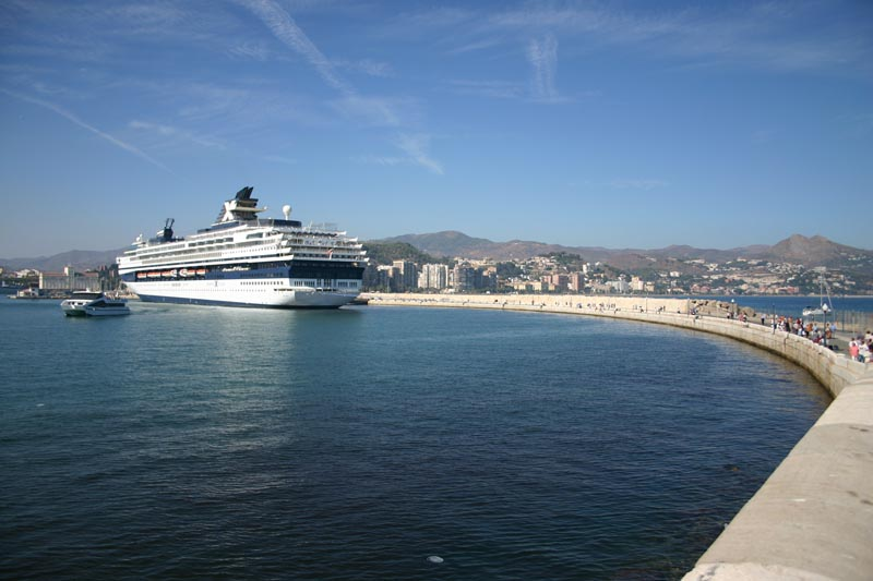 Cruise in Malaga Port 8