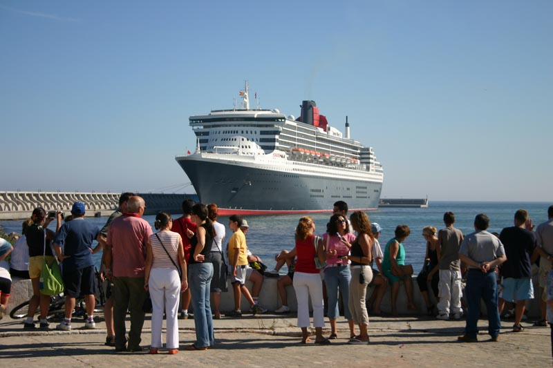 Cruise in Malaga port 11