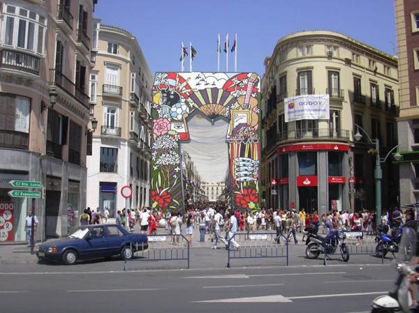 Malaga day fair