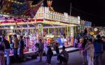 Malaga Fair at night