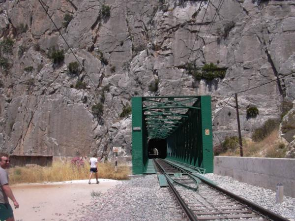 El Chorro train bridge - Photo 12