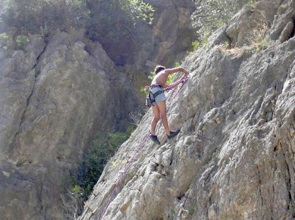 Climbing in El chorro picture 6
