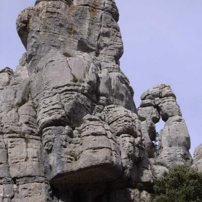 El Torcal rocks overview 13