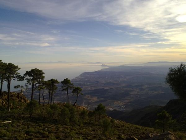 Gibraltar view from Marbella Picture 3
