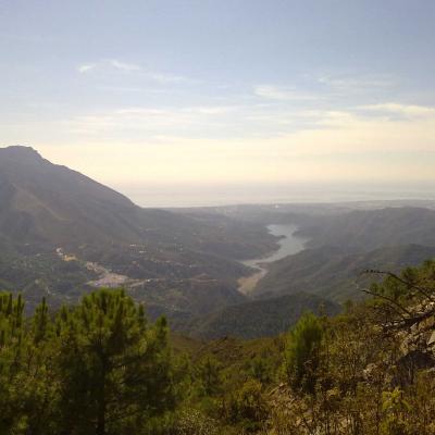 Mirador en Marbella, Sierra de Istán