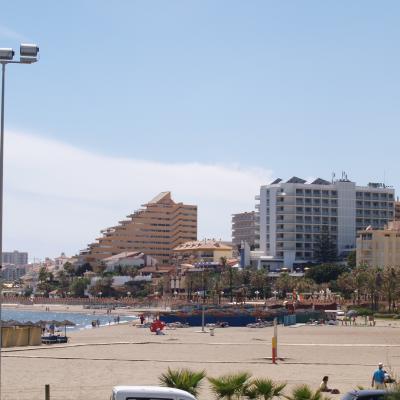 Benalmadena beach and hotels