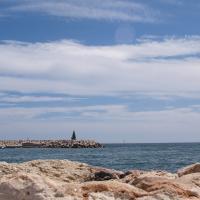 Benalmadena Marina seawall