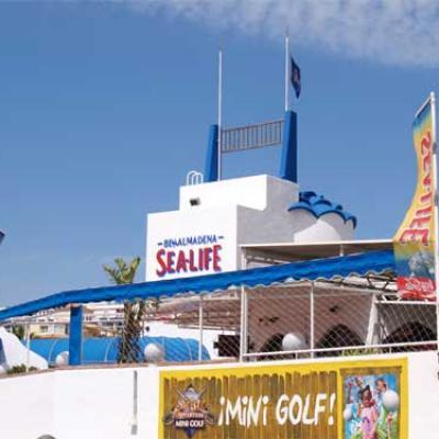 Benalmadena Sealife entrance