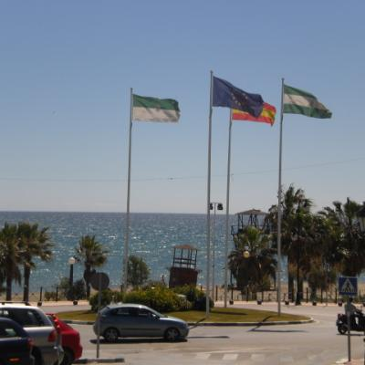 Estepona and flags