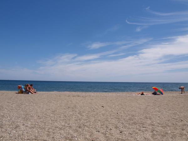 Fuengirola sunbathing