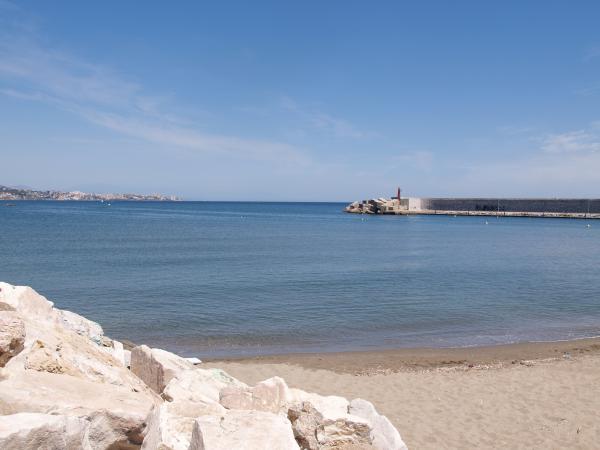 Fuengirola seawall