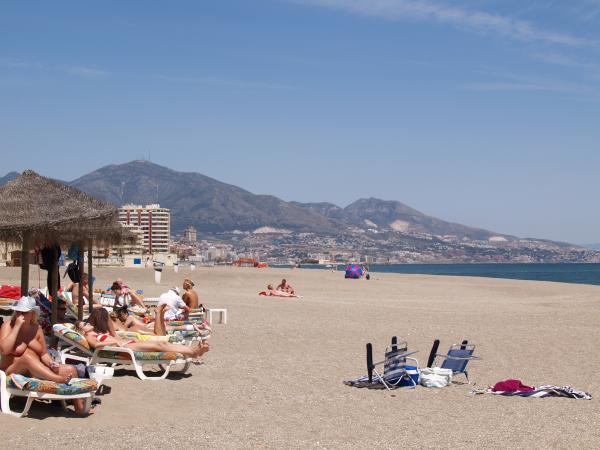 Fuengirola sunbathing 45