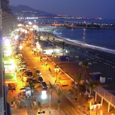 Fuengirola by night