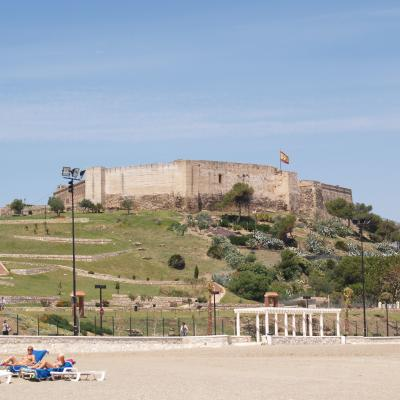 Castle photo from beach