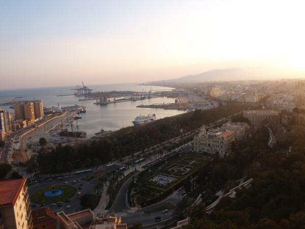Malaga Port overview 8