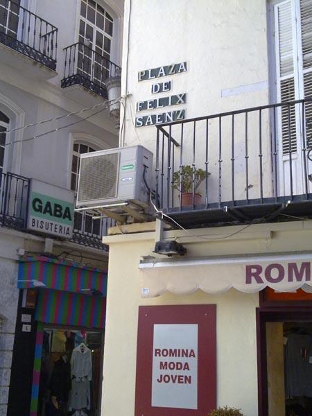 Plaza Felix Saenz