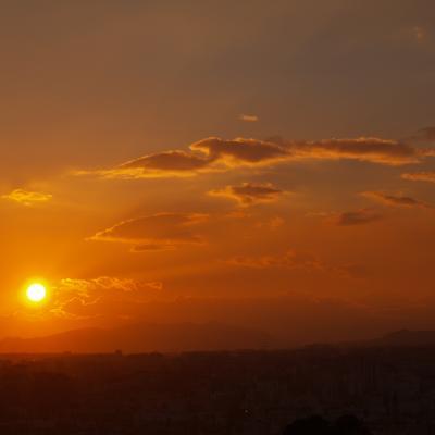 Malaga sunset 3
